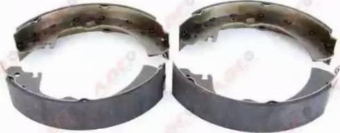 ABE C01038ABE - Комплект тормозных башмаков, барабанные sparts.com.ua