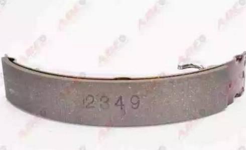 ABE C02060ABE - Комплект тормозных башмаков, барабанные sparts.com.ua