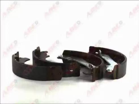 ABE C0G054ABE - Комплект тормозных башмаков, барабанные sparts.com.ua