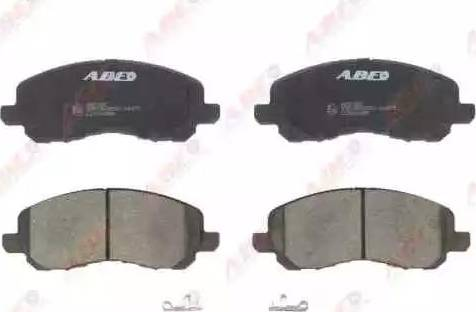 ABE C15044ABE - Тормозные колодки, дисковые sparts.com.ua