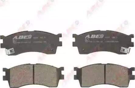 ABE C10303ABE - Тормозные колодки, дисковые sparts.com.ua