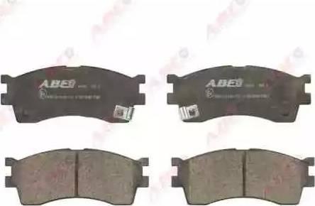 ABE C10319ABE - Тормозные колодки, дисковые sparts.com.ua