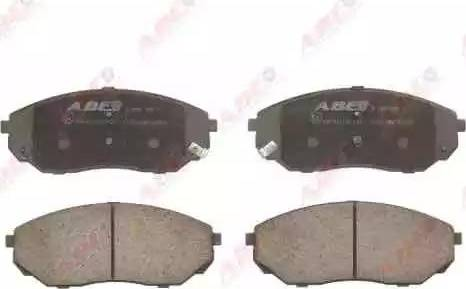 ABE C10317ABE - Тормозные колодки, дисковые sparts.com.ua
