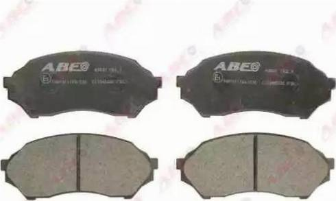 ABE C13045ABE - Тормозные колодки, дисковые sparts.com.ua