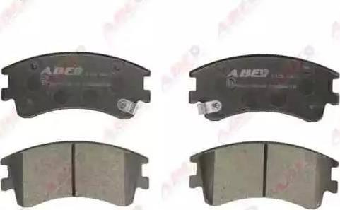 ABE C13052ABE - Тормозные колодки, дисковые sparts.com.ua