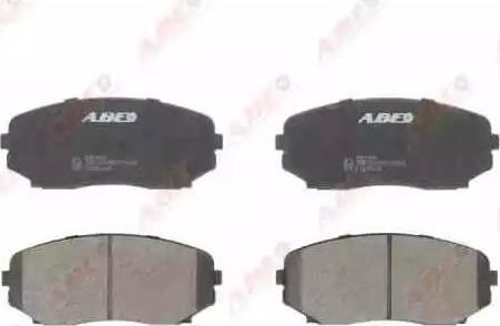 ABE C13061ABE - Тормозные колодки, дисковые sparts.com.ua