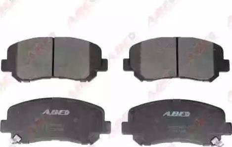 ABE C13067ABE - Тормозные колодки, дисковые sparts.com.ua