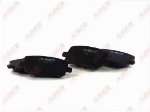 ABE C12099ABE - Тормозные колодки, дисковые sparts.com.ua