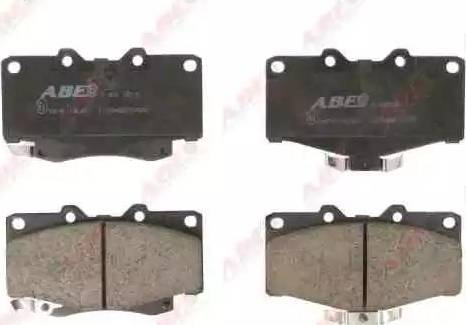 ABE C12054ABE - Тормозные колодки, дисковые sparts.com.ua