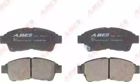ABE C12064ABE - Тормозные колодки, дисковые sparts.com.ua