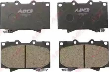 ABE C12088ABE - Тормозные колодки, дисковые sparts.com.ua