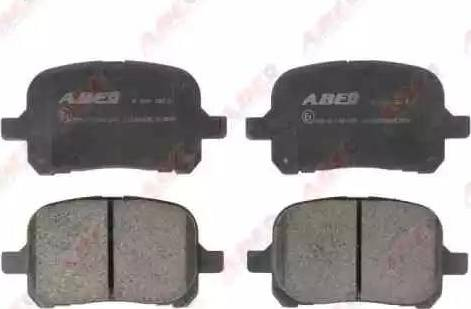 ABE C12083ABE - Тормозные колодки, дисковые sparts.com.ua