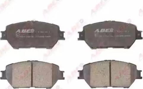 ABE C12104ABE - Тормозные колодки, дисковые sparts.com.ua