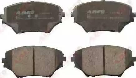 ABE C12100ABE - Тормозные колодки, дисковые sparts.com.ua