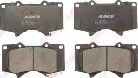 ABE C12111ABE - Тормозные колодки, дисковые sparts.com.ua
