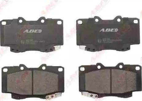 ABE C12130ABE - Тормозные колодки, дисковые sparts.com.ua
