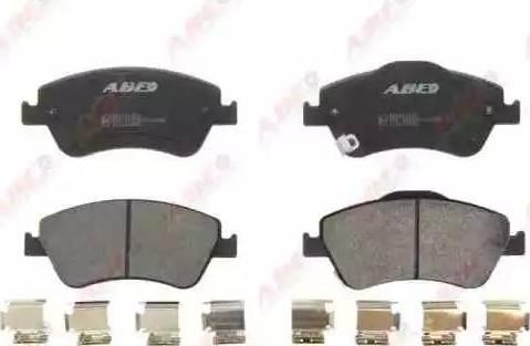 ABE C12131ABE - Тормозные колодки, дисковые sparts.com.ua
