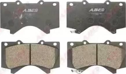 ABE C12129ABE - Тормозные колодки, дисковые sparts.com.ua