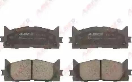 ABE C12120ABE - Тормозные колодки, дисковые sparts.com.ua