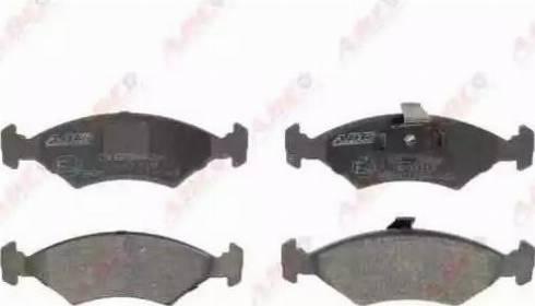 ABE C1G036ABE - Тормозные колодки, дисковые sparts.com.ua