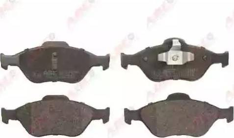ABE C1G038ABE - Тормозные колодки, дисковые sparts.com.ua