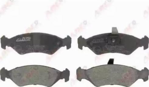 ABE C1G025ABE - Тормозные колодки, дисковые sparts.com.ua
