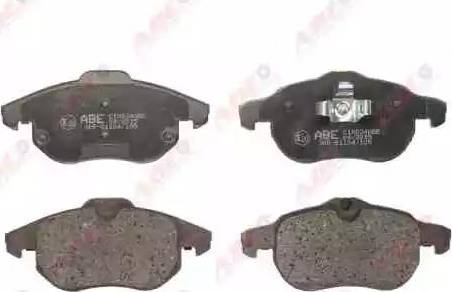 ABE C1X024ABE - Тормозные колодки, дисковые sparts.com.ua