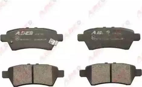 ABE C21046ABE - Тормозные колодки, дисковые sparts.com.ua
