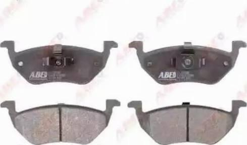 ABE C23016ABE - Тормозные колодки, дисковые sparts.com.ua