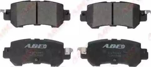 ABE C23018ABE - Тормозные колодки, дисковые sparts.com.ua