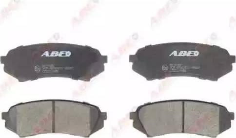 ABE C22017ABE - Тормозные колодки, дисковые sparts.com.ua