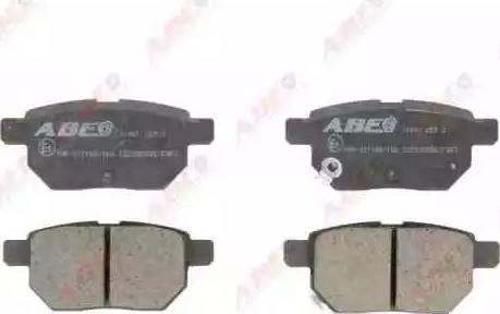 ABE C22035ABE - Тормозные колодки, дисковые sparts.com.ua