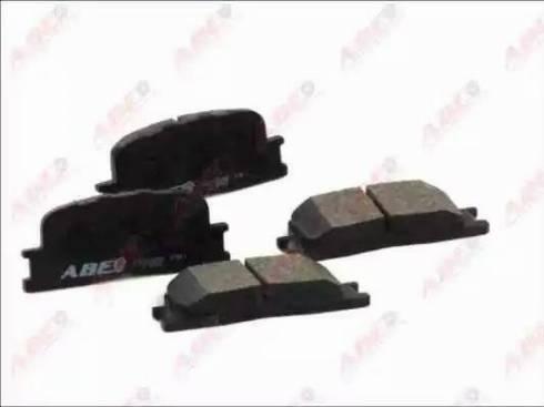 ABE C22030ABE - Тормозные колодки, дисковые sparts.com.ua