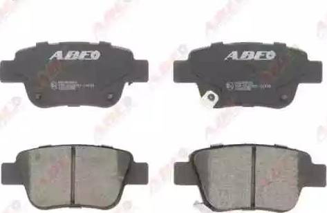 ABE C22031ABE - Тормозные колодки, дисковые sparts.com.ua