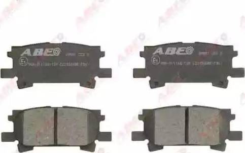 ABE C22032ABE - Тормозные колодки, дисковые sparts.com.ua
