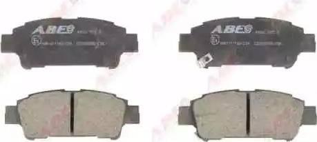 ABE C22025ABE - Тормозные колодки, дисковые sparts.com.ua