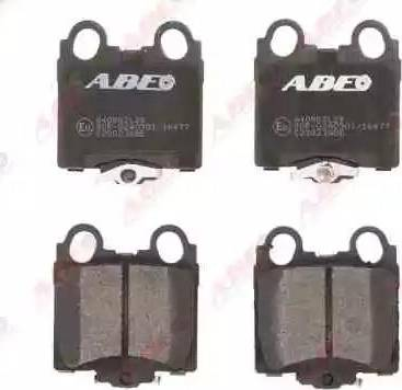 ABE C22023ABE - Тормозные колодки, дисковые sparts.com.ua