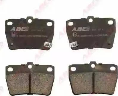ABE C22027ABE - Тормозные колодки, дисковые sparts.com.ua