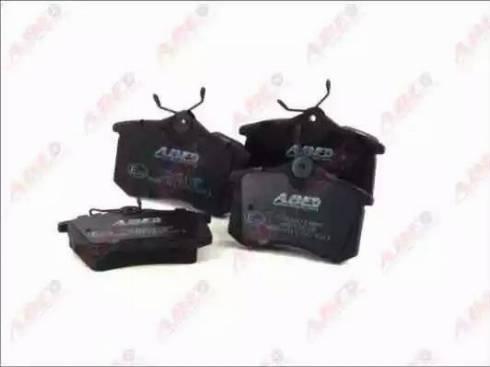 ABE C2W001ABE - Тормозные колодки, дисковые sparts.com.ua