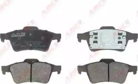 ABE C2X012ABE - Тормозные колодки, дисковые sparts.com.ua