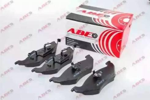 ABE C2Y023ABE - Тормозные колодки, дисковые sparts.com.ua