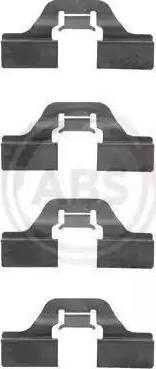 A.B.S. 1211Q - Комплектующие для колодок дискового тормоза sparts.com.ua