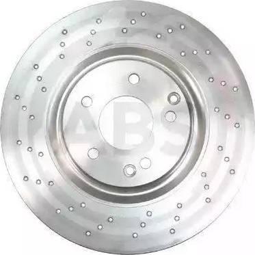 A.B.S. 17562 - Тормозной диск sparts.com.ua