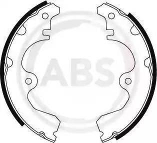 A.B.S. 8680 - Комплект тормозных башмаков, барабанные sparts.com.ua