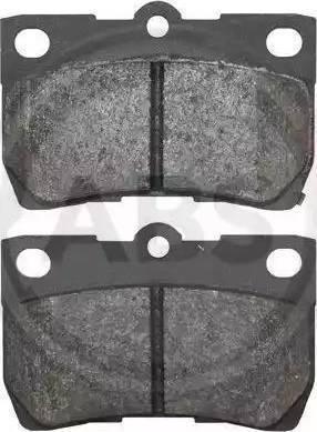 A.B.S. 37556 - Тормозные колодки, дисковые sparts.com.ua