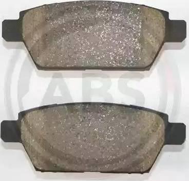 A.B.S. 37528 - Тормозные колодки, дисковые sparts.com.ua