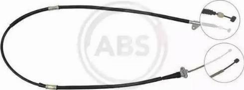 A.B.S. K16047 - Трос, стояночная тормозная система sparts.com.ua