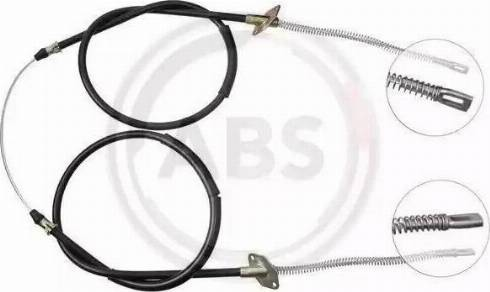 A.B.S. K10955 - Трос, стояночная тормозная система sparts.com.ua