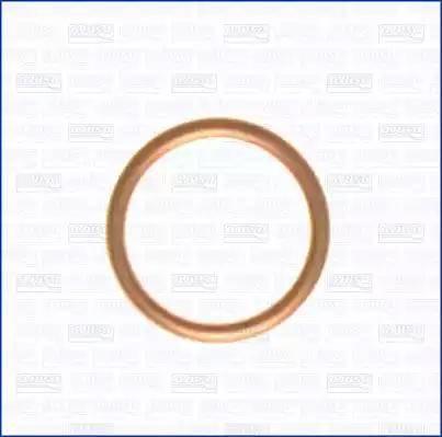 Ajusa 18001100 - Уплотнительное кольцо, резьбовая пробка маслосливного отверстия sparts.com.ua