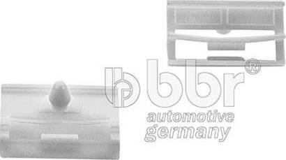 BBR Automotive 003-80-08465 - Зажим, молдинг / защитная накладка sparts.com.ua
